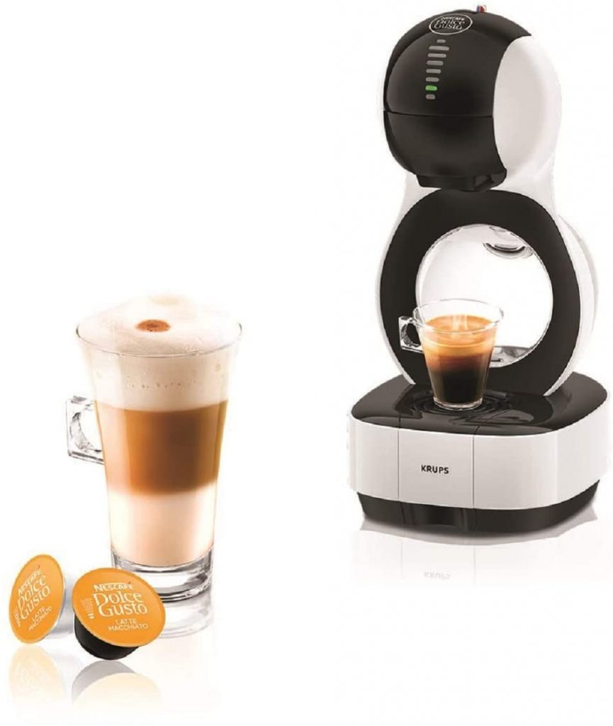 Krups Nescafé Dolce Gusto Lumio Automatic Coffee Pod Machine